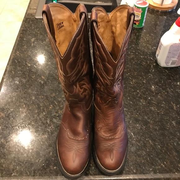 d7b133b612b Tony Lama Cheyenne TLX Western Work Boots, Men's